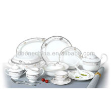 fine bone china Mexican sugar jar casserole black and white heart shaped dinnerware