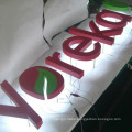 High Quality LED Backlit Stainless Steel Advertising Letter Signs
