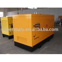 Weatherproof diesel generator set