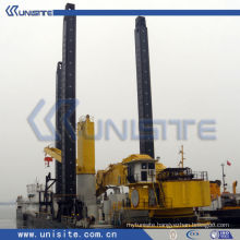 marine dredge spud carrier for cutter suction dredger (USC-2-005)