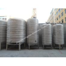 Fermenteur conique gainé en acier inoxydable