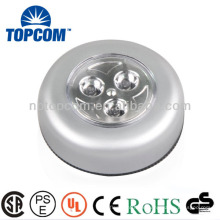 Multifunktions-3 LED-Push-Light-Schlafzimmer Touch-Lampe TP-733TL-3