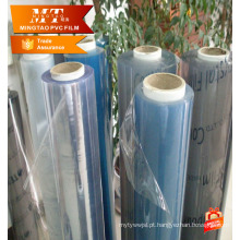 Pvc de rolos de plástico super transparente para pano de mesa