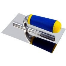 Plain Type Plastic Handle Stainless Steel Hot Sale Mirror Polishing Trowel