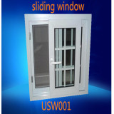Social Project Double Pane UPVC Sliding Window