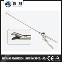 Aguja laparoscópica reutilizable Aguja curvada derecha Curva derecha