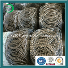 Razor Wire, Barbed Wire Protecting Fencing
