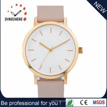 Relógio de aço inoxidável dos homens de quartzo das senhoras da forma (DC-1088)