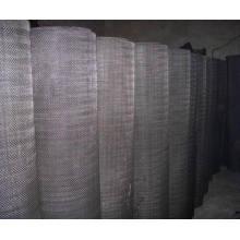 Pantalla de filtro / paño de alambre negro