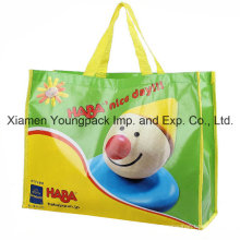 Рекламный пакет из крупнопанельного нетканого полипропилена с ламинированным покрытием