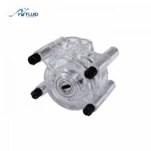 Large flow Micro peristaltic pump head