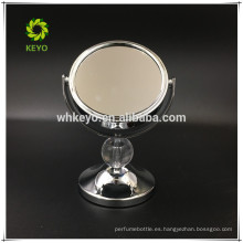 2017 espejo de maquillaje de escritorio espejo de mesa de aumento 3X