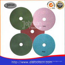 180mm Wet Polishing Pad for Polishing Stone