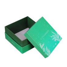 boîte à parfum bougie carrée avec poignée en ruban