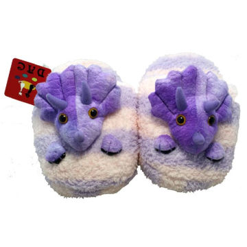 plush cartoon animal slipper