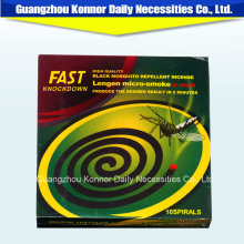 Africa Market Fast Knock Down Mosquito Coil for Indoor Use