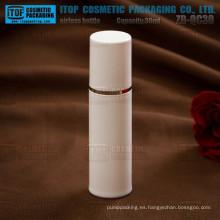 ZB-QC30 30ml caliente-venta promocional precio agradable buscando pp plástico a granel envases cosméticos impresión