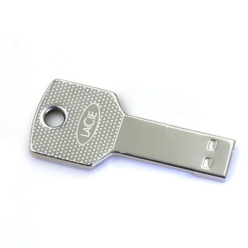 Metal Waterproof  Key Ring Pen Drive