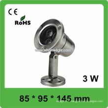 Haute qualité CE et ROHS AC12V-24V IP68 conduit lumière sous-marine, 3 ans de garantie