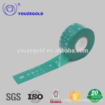 Insulation green belt pvc pipe tape