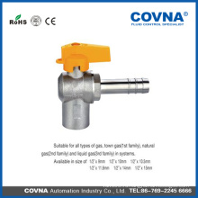 3/4 шаровый клапан латунь Газовый шаровой клапан латунный шаровой кран с ниппелем с высоким качеством