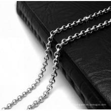 Ожерелье цепь лобстер 19.68 дюйм & 23.62 дюймов 316L Нержавеющая сталь