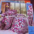 75gsm 100% polyester simple fleur imprimé style adulte grande taille microfibre bedsheet ensembles
