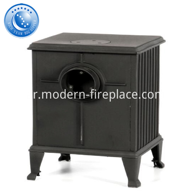 8KW Custom Cast Iron Wood Burning Stoves