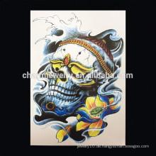 OEM Großhandels-kundenspezifische Karikatur-Körper-Tätowierung-Karikaturtätowierungentwürfe tatoo Armmänner W-1014