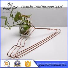 Neuer Stil Kupfer Drahtbügel für Kleidung Qualitätswahl