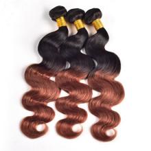 cheveux bouclés droits, extension de cheveux humains vierges brésiliens à bas prix coudre en armure