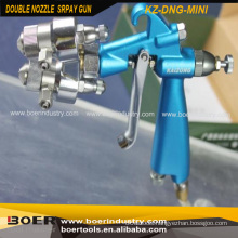 Double Nozzle Multi function Spray Gun Mini Type