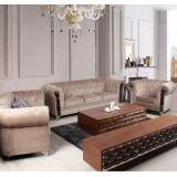 Modern Home Furniture Stainless Steel With Farbric Sofa B003