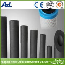 Carbón activado para filtros