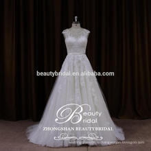 2017 новый летний привязали свадебное платье из Китая свадебное платье сшитое ZSS001