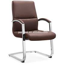 Hot sale office chair with chrom base /executive office chair/visitor chair