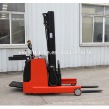1ton 1.2ton 1.5ton 2ton Mini Electric Reach Stacker AC motor EPS small radius