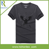 Men's100% Cotton Single Jersey Printed T-Shirt