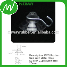 Anti Age Small 20mm Suction Cup com gancho de metal