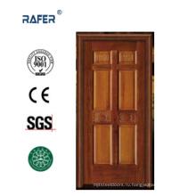 Интерьер 100% твердые деревянные двери (РА-N022)