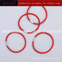 Elastisches Haarband mit Metallanschluss