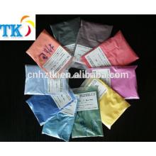 La poudre de pigment thermochromique à 31 degrés change de couleur avec le changement de température