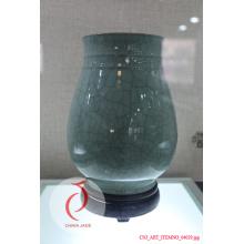 Vasos de cerâmica verde Celadon