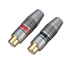 RCA Connector with All Metal