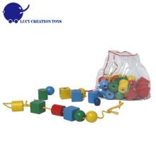 36 шт Деревянная бисероплетенная игрушка