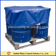 High quantity waterproof tarpaulin pallet cover