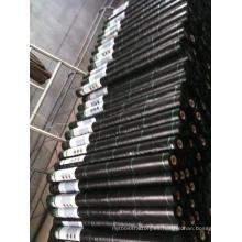 Rollo de geotextil PP negro