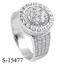 Novo Modelo 925 Sterling Silver Ring Fashion Jóias