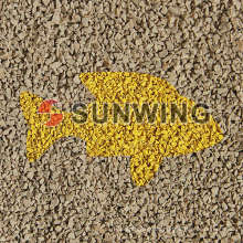 Sunwing bester geschredderter Reifen Mulch