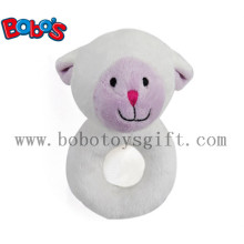"6"" Plush Lamb Baby Rattle Toys Handbell Toys"